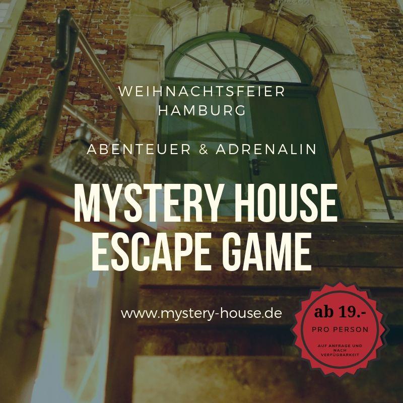 Weihnachtsfeier Hamburg Escape Game